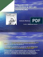 Evaluacion Neurpsicologica de Las Demencias