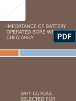 Importance of Battery Operated Bore Well