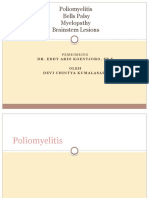 RESPONSI KIBRIL Poliomyelitis, Bells Palsy, Myelopathy, Brainstem Lesions