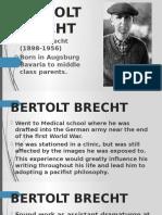 Mother Courage Brecht
