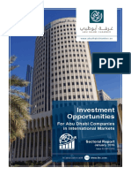 Ohan Balian 2016 Investment Opportunities for Abu Dhabi Companies in International Markets. Sectoral Report, Issue 02-08122015, January 2016.