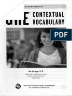 Contextual Vocabulary 1