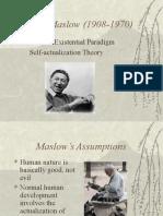 Personality Maslow