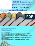 PHL 464 CART Education Expert/phl464cart.com