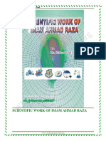 Scientific Work of Imam Ahmad Raza