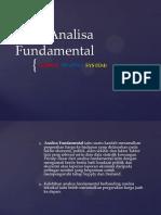 Teori Analisa Fundamental