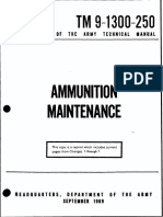 (1969) TM 9-1300-250 Ammunition Maintenance