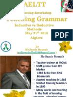 teaching Grammar  AELTT meeting Algiers May 21 St2016.ppt