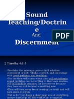 Sound Teaching Sermon.ppt