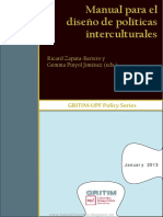 MANUAL Para El Diseño de Politicas Interculturales