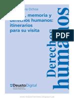 Museo Memoria y Derechos Humanos Itinerarios Para Su Visita