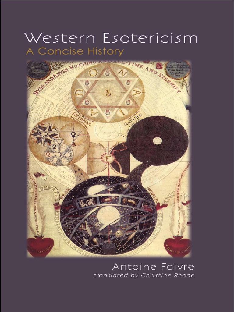 Faivre Esotericism   Esoterismo occidental   Teosofía