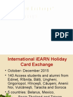 IEARN Conference Cards Exchange