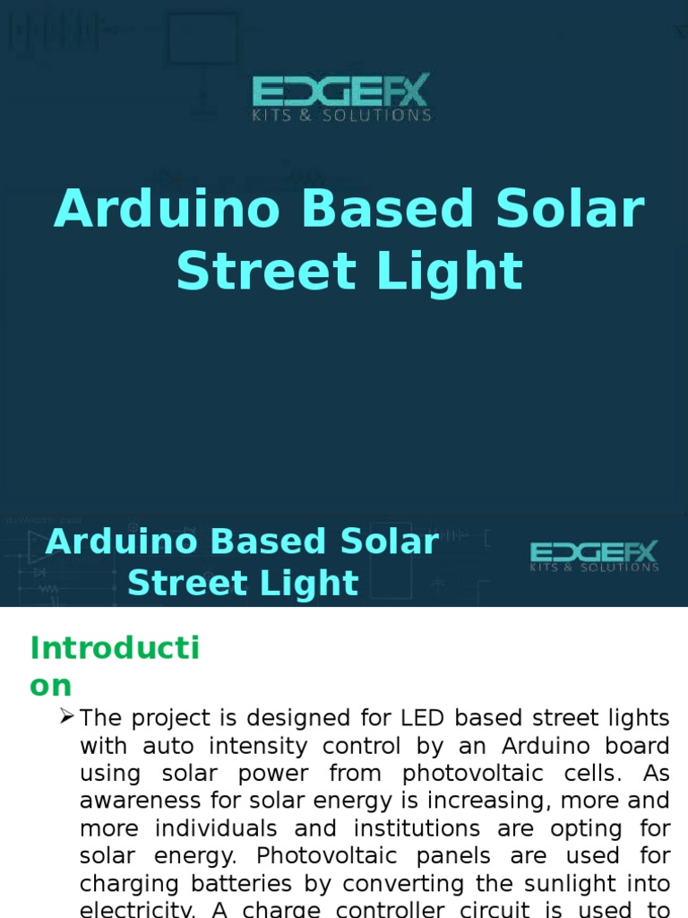 Arduino Based Solar Street Light Battery Electricity Lithium Using 555 Timer And Dependent Resistorldr Build Circuit Ion
