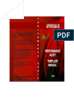 1. AFROSAI- E Performance Audit Template Manual (2010)