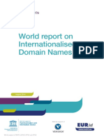 IDN World Report 2014 by Eurid