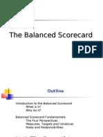 Balance Score Card Introduction