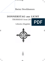 Libretto Donnerstag Eng