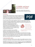 REDD+ and Forest Governance in Nepal