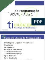 Curso de Lógica de Programação - Aula 1.pptx