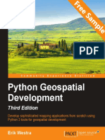 Python Geospatial Development - Third Edition - Sample Chapter