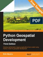 Python Geospatial Development - Third Edition - Sample Chapter