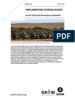 Setting and Implementing Science-Based Targets