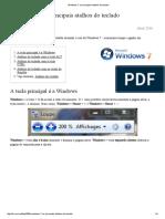 Windows 7_ Os Principais Atalhos Do Teclado