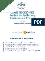 Código ASME Sección IX - Danfer de La Cruz