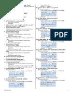 100 Pregunta de Word