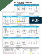 2016-2017 calendar  board approved  4-18-16