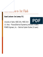 Intro to Arc Flash