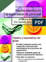 Comunicacion Asertiva en La Supervision de Personal1
