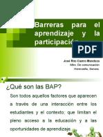 barrerasparaelaprendizajeylaparticipacin-121130101031-phpapp01