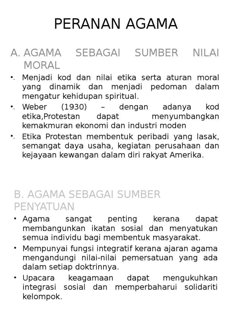 Peranan Agama Dalam Memupuk Hubungan Etnik Yang Harmoni Di Malaysia