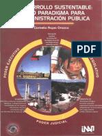 El Desarrollo sustentable- un nuevo paradigma para la administración pública.pdf
