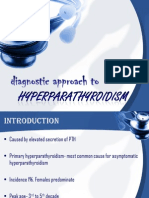 Hyper Parathyroidism- In Ortho