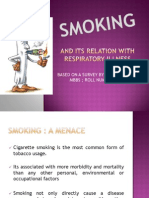Smoking & Its Relation With Resp Illness
