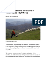 A New Threat in the Mountains of Transylvania