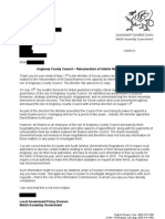 WAG Letter Redacted