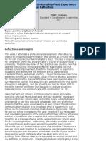 module 4 journal reflection form
