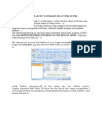 Tutorial Koneksi Adodc Database Ms Access Di Vb6