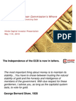 Hinde Capital - ECB the European Commisssion's Whore May 2010