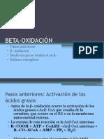 BETA-OXIDACIÓN