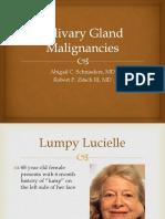 Salivary Gland Malignancies