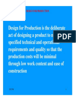 Design for Production