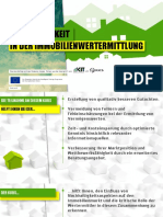 Nachhaltigkeit in der Immobilienwertermittlung (German)