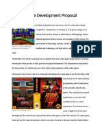 game development proposal