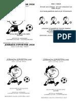 Jornada Esportiva 2016 Infantil