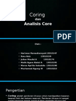 4. Coring Dan Analisis Core